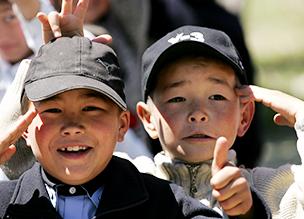 키르키즈스탄 비시켁, 까라발타, 나른, 촐판아타(차이카)